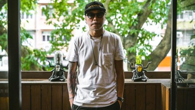 著名樂團 LMF 成員之一,同時亦是藝術家的 Prodip Leung對種植十分有研究。