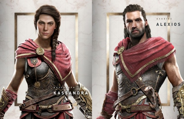 雙主角制的設計一如《Mass Effect》或者《機戰》,只是控制角色的性別有差異,可放心選擇。