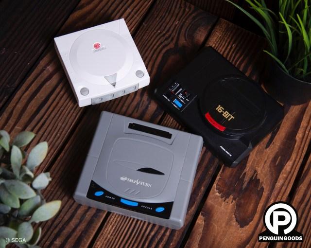 迷你世嘉Sega家用遊戲機無線充電座已經上架,建議零售價各$350