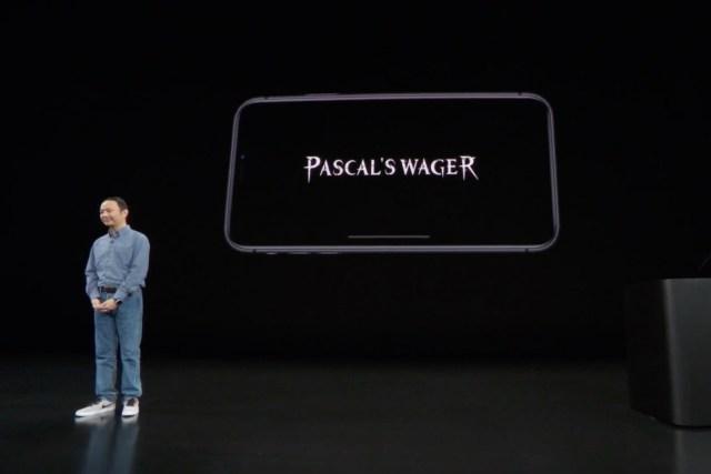 Pascal's Wager 的官網已有影片及角色介紹,有興趣可按此。