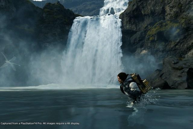 每次涉水都是一種挑戰,幸好中段便有特別的道具助你減低風險