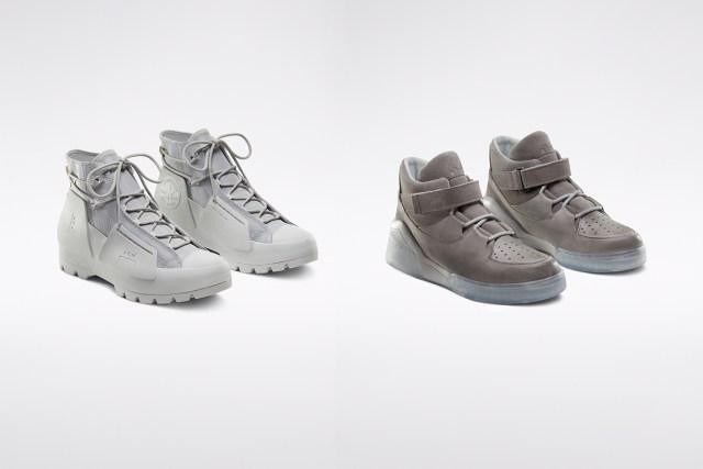 系列以兩雙鞋款來表達,並再附上服裝及配飾單品。
