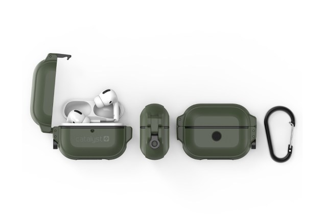 Catalyst Total Protection for Airpods Pro 保護殼(黑/軍綠)|HK$398
