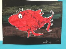 Dr. Seuss Fish Grade 1