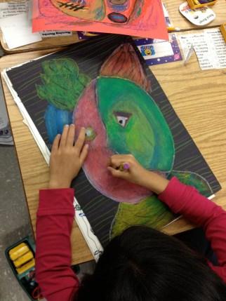 Picasso Portrait Grade 3