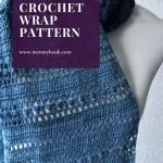 Long lacy shawl crochet pattern
