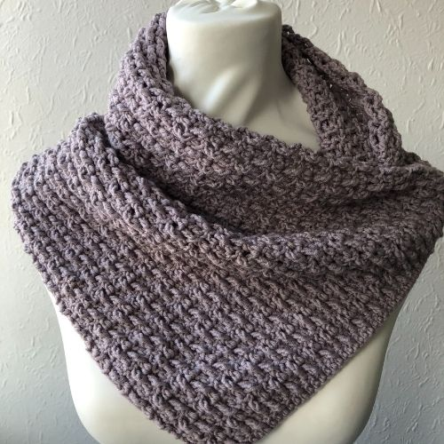 Beginner Textured Cowl - Marian Bay Cowl