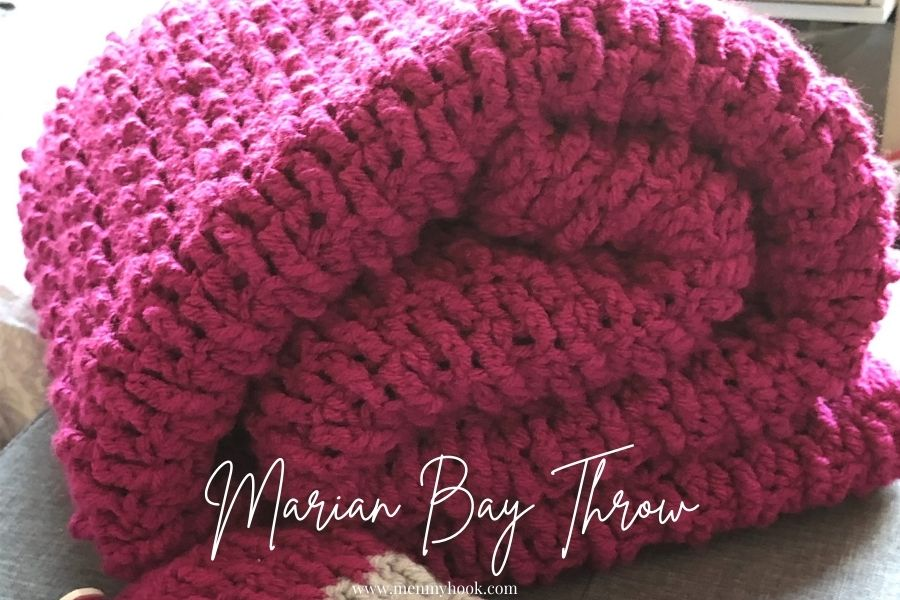 Easy Chunky Throw - Marian Bay Throw