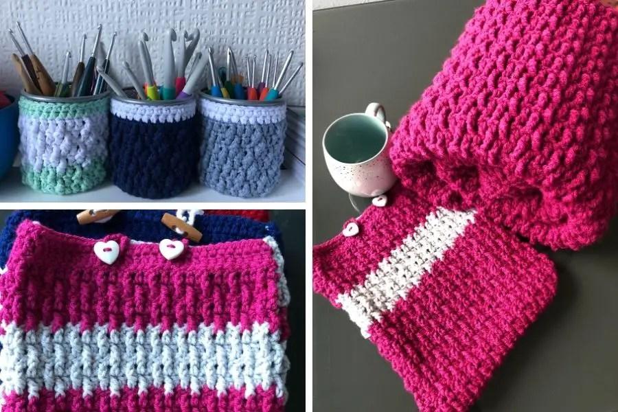 Easy crochet pattern bundle