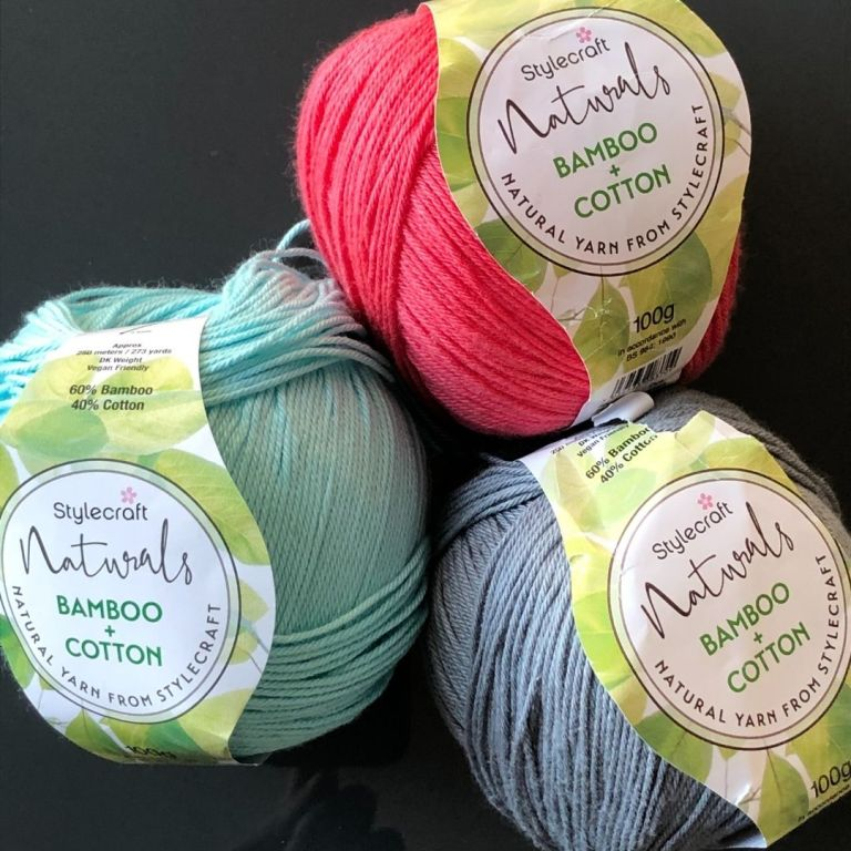 Yarn Review – Stylecraft Naturals Bamboo Cotton Dk