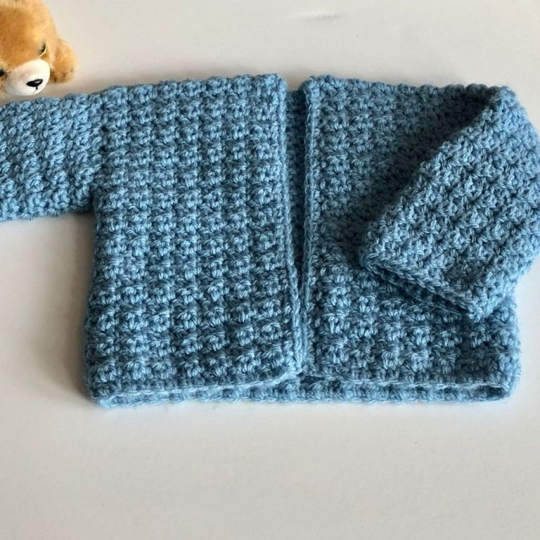 Free baby sweater pattern – Harmony Sweater