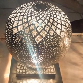 Lanterne marocain argenté / moroccan silver lantern 33