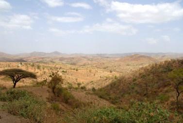 Landskabet ved Konso