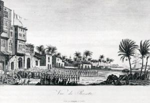 Napoleons tropper i Rosetta.