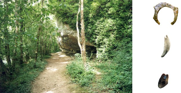Grotterne langs Cure-floden, Arcy-sur-Cure