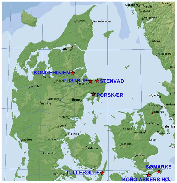 Udvalgte Stendysser I Danmark Menneskets Oprindelse