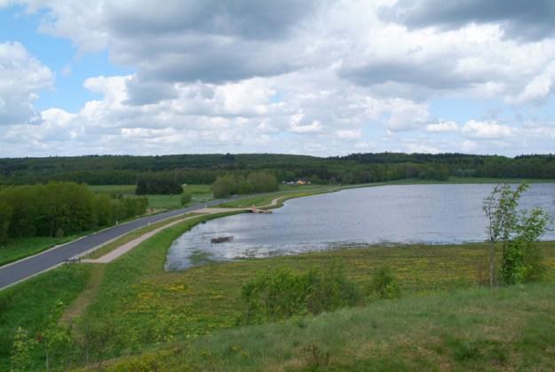 Bølling sø ved Kragelundsvej sommer 2005
