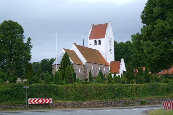 Grønbæk kirke ved Grauballe