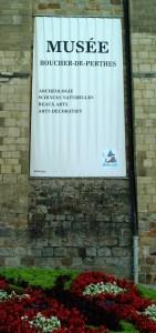 de Perthes' museum i Abbeville