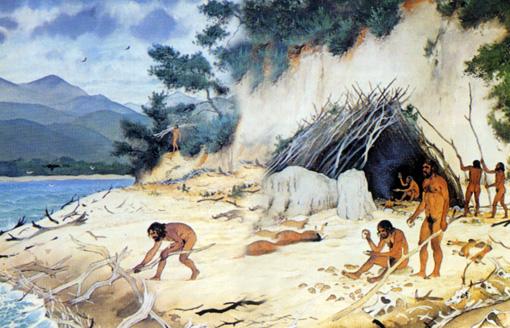 Terra Amata for 400.000 år siden