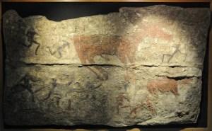 Originalt vægmaleri, museet i Ankara