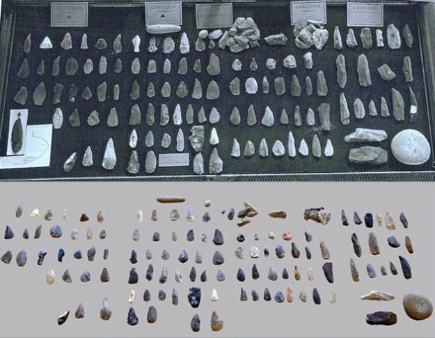 Stenredskaber fra Grimaldi-hulerne