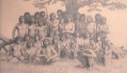 Rekonstruktion af menneskene fra Sima de los Huesos