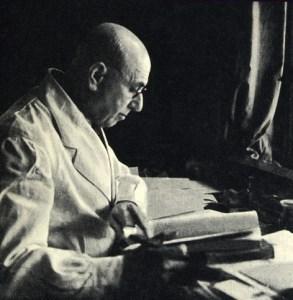 FRANZ WEIDENREICH (1873-1948)  ER EN AF PALÆOANTROPOLOGIENS HELT STORE KORYFÆER. hAN ER ISÆR KENDT FOR SINE STUDIER AF PEKING-MENNESKET (HOMO ERECTUS)