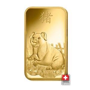 sztabka pig 5 gram złoto