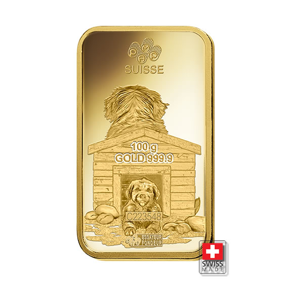 sztabka złota dog