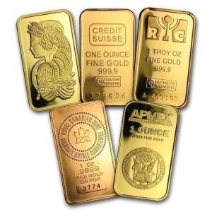 sztabka złoto