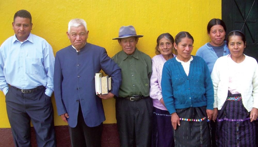 The Nahualá brethren and sisters