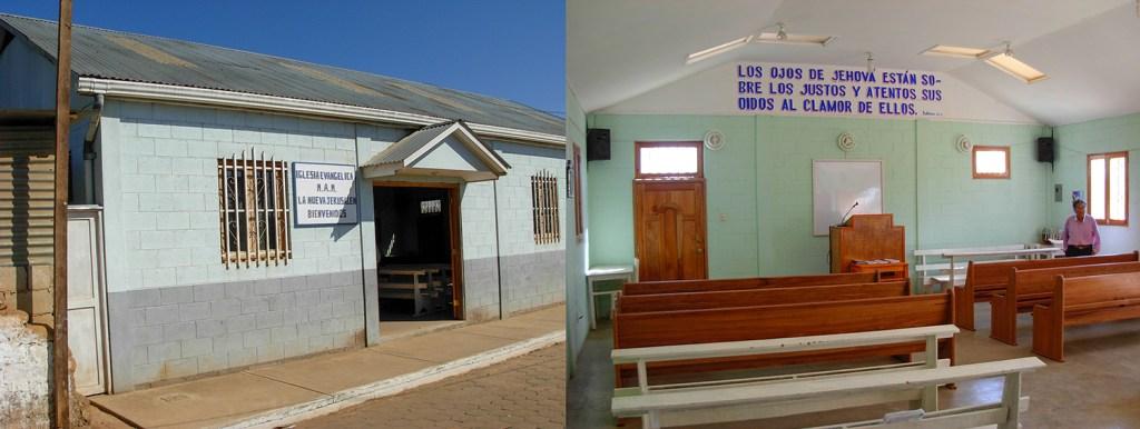 The chapel in Joya Grande.