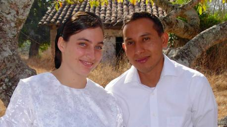 Rubén Benito and Tiana Martin were married on February 19, 2017.