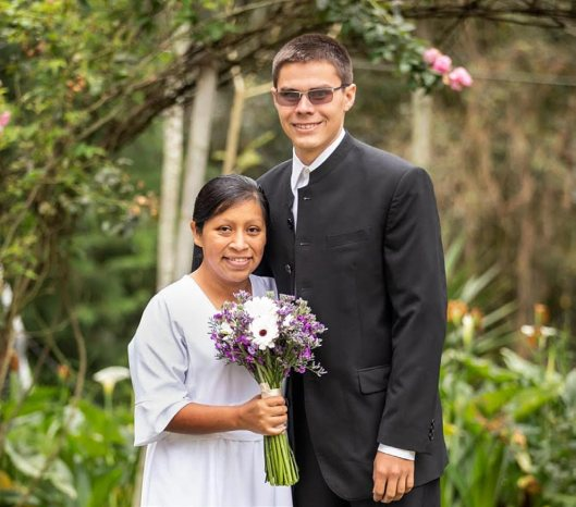 Justin Flamenco and Kayla King were married on December 21, 2019