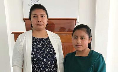 Linda Tucubal and Reina de Pichiyá.