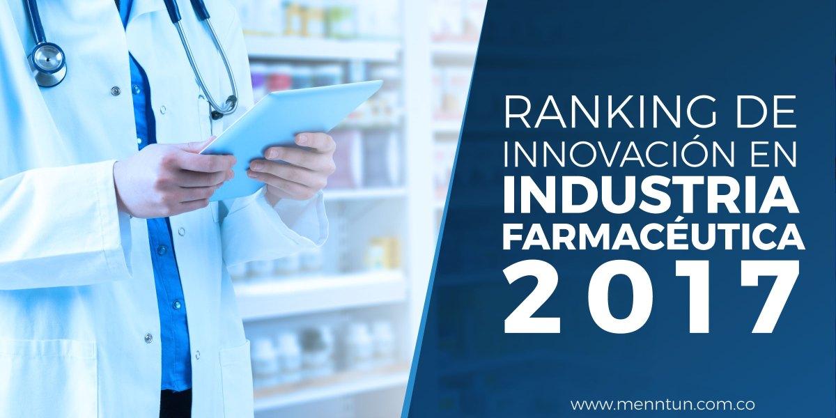 ranking de innovacion en industria farmaceutica 2017