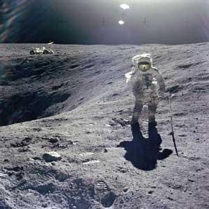 Skepticnet Были ли американцы на Луне Фотографии и