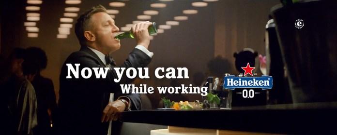 Heineken 0.0 No Time To Die commercial met Daniel Craig... of James Bond?