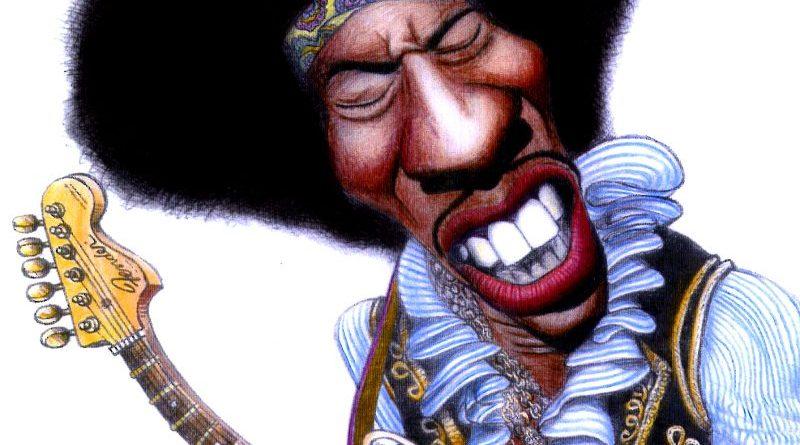 Jimi Hendrix por Jorge Inácio