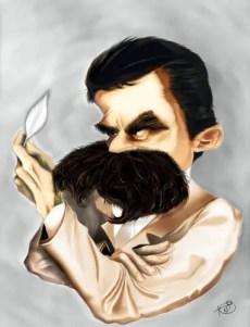 Nietzsche caricatura.