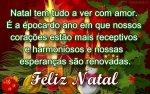feliz natal com paz e amor
