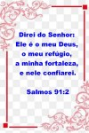 Salmos 91:2 para ler e refletir