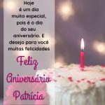 parabens patricia - mensagem de feliz aniversario patricia