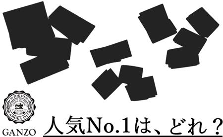 ガンゾ 人気革小物ランキング TOP画