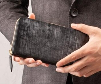 クラフスト ブライドルレザーの財布写真