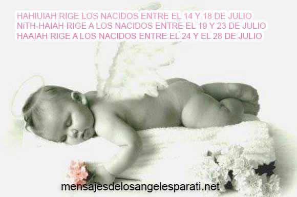 NiTH-HAIAH RIGE A LOS NACIDOS ENTRE EL 19 Y 23 DE JULIO