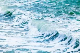 Waves in ocean. wave ocean water background. Beautiful View of seascape