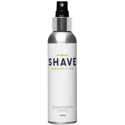 mejores productos belleza hombre shave barbers spa tonico aftershave barba hombre lemongrass tonic 125 ml