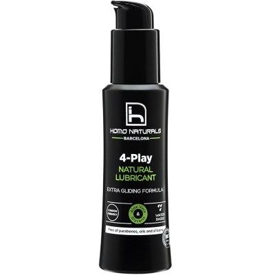 mejores productos belleza hombre homo naturals 4-Play lubricante natural intimo relaciones sexuales 100 ml